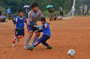 2013年のサッカーフェスティバルの様子(SVAのサイトより)