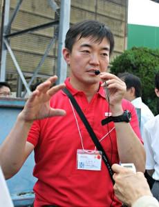 九州事業所アグリ事業グループの高橋裕典さん