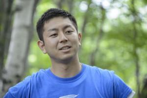 ギンザのサヱグサCSR責任者の井ヶ田剛秀さん。参加した子どもたちからは「イゲちゃん」という愛称で親しまれていた
