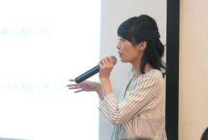 アムリターラの勝田小百合代表