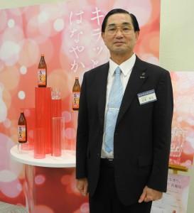 霧島酒造の江夏拓三・代表取締役専務