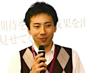MURC社会システム共創部兼革新創造センターの水野太郎さん