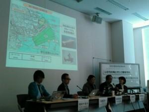 辺野古新基地建設に反対する環境NGOの共同会見=25日、都内で