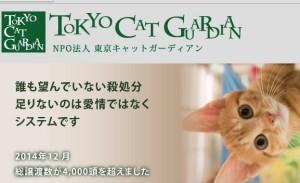 「殺処分の前に民間でできることがある」という東京キャットガーディアン