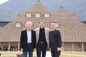 3人のNELIS共同代表者。中央がピーター氏(NELISクラウドファンディングサイトより)