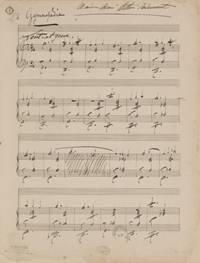 手書きの楽譜(一部)
