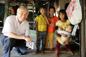 「熟年の星」ともいわれる認定NPO法人アジア教育友好協会の谷川洋理事長。アジアの山岳少数民族のための学校建設などに取り組む