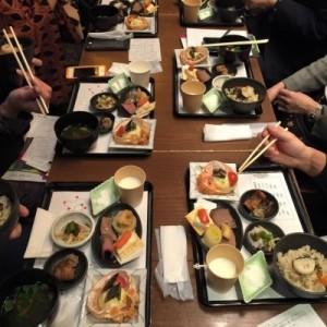 北海道の食材を使った朝ご飯
