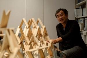 木造建築を競い合う流れが起きていると話す隈さん 写真:廣瀬真也(SPREAD)