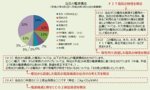 電力取引等監視委員会が示した電源表示の例(経産省資料から引用)