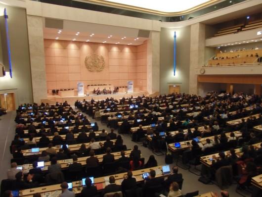 第4回目国連「ビジネスと人権フォーラム」の様子(下田屋毅撮影)