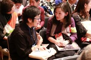 「ファンドレイジング・日本2016」には、NPOやファンドレイジングにかかわる人たちが全国から集まる。参加者同士の交流も魅力の一つだ