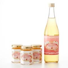 米崎りんごを使用したジュースやジャム