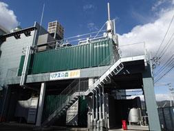 気仙沼市内のバイオマス発電設備(都報道資料から引用)