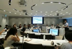 DTCの説明会の様子。参加者から活発な意見・質問が相次いだ。
