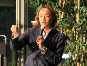 日本障がい者サッカー連盟会長を務める北澤氏は、ブラインドサッカーから「本当のコミュニケーション」とは何かを教えもらったという