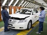2017年末に閉鎖される、メルボルン郊外にあるアルトナ工場での車両検査。カムリはオーストラリアの工場で製造される最後のモデルとなった © Toyota Motor