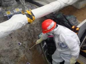 福島第一原発の凍土壁。事故にともなう費用は20兆円に達する見通し(東電広報資料から引用)