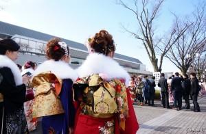 京都で成人式に参加する新成人 Image credit:Keiko Shih