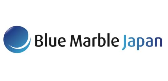 ブルー・・マーブルジャパン ロゴ