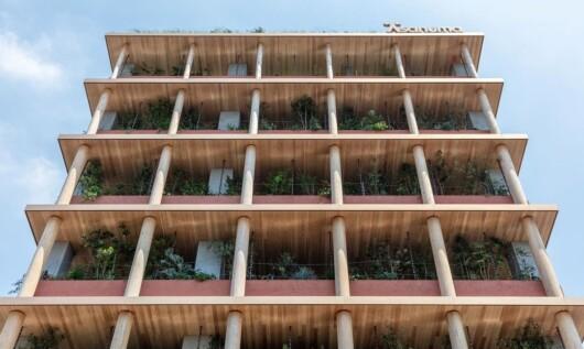 築30年のビルを環境配慮型にリニューアルした淺沼組名古屋支店